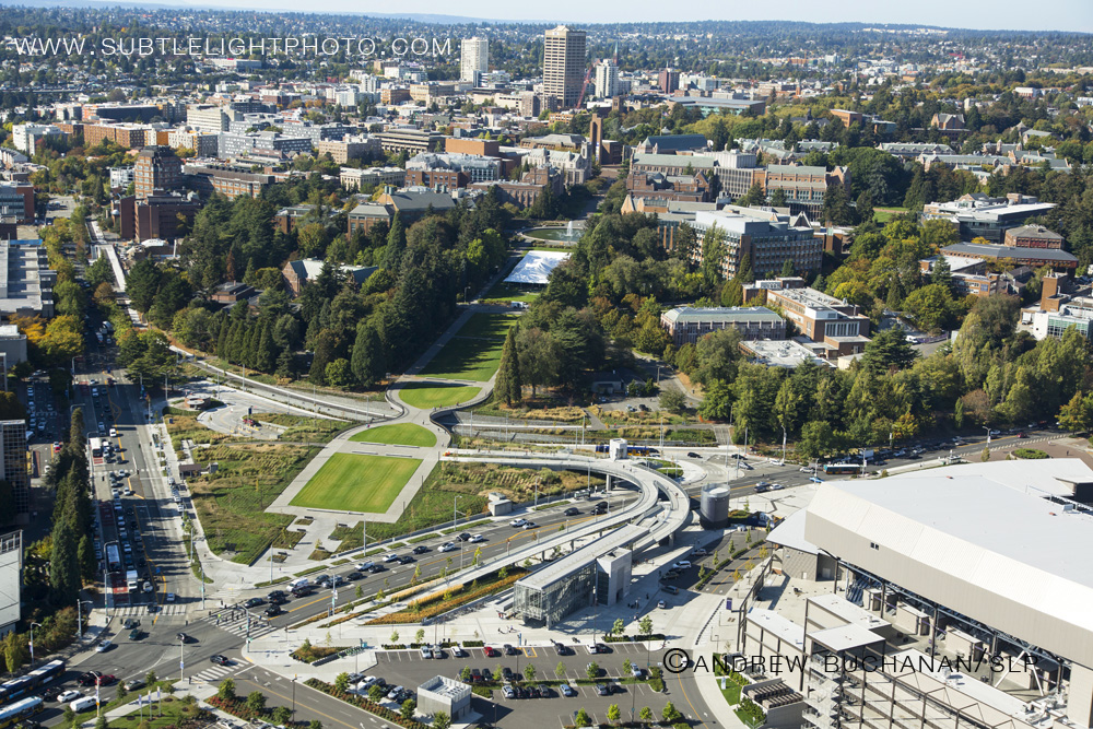 Seattle-Aerial-Photograph-University-Washington