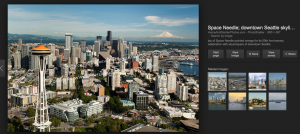 Seattle aerial photography