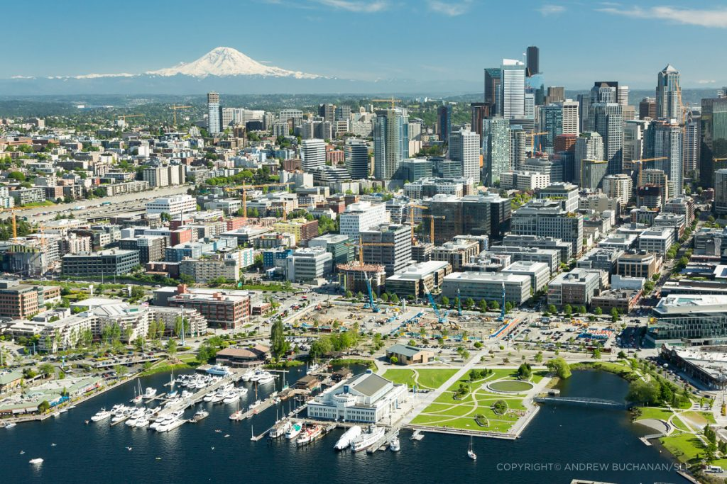 construction-cranes-seattle-south-lake-union-aerial-photo
