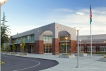 Seattle - Architectural photography of high school addition near Tacoma, WA for Erickson-McGovern Architects
