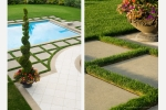 Seattle - Private residence pool and garden photography details, Seattle suburb, for Sander Groves Landscapes, Inc.