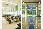 Seattle - Interiors photography of high school addition near Tacoma, WA for Erickson-McGovern Architects