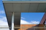 Seattle - Exterior architectural photo detail on Mercer Island, WA for private homeowner & Olson Kundig Architects