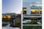Seattle - Seattle University plaza, library, and student union for The Berger Partnership & Pfeiffer Partners Architects