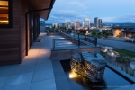 Seattle - Dusk exterior photography in Bellevue, WA for Dar Webb Landscape Architects