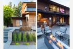 Seattle - Landscape architecture and outdoor kitchen photography in Bellevue, WA for Dar Webb Landscape Architects