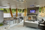 Seattle - Architectural photography of outdoor living space for McCullough Architects