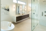 Seattle - Interior master bath architectural photography, Clyde Hill, WA for McCullough Architects