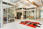Seattle - Vocational school lobby interior photo in Marysville, WA for Rhodes Architecture and Alegis Construction