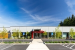 Seattle - Vocational school exterior architectural photography in Marysville, WA for Rhodes Architecture and Alegis Construction